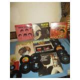Elvis Presley & Beatles Vintage Record Collection