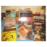 Country & Western Vintage Record Album Collection