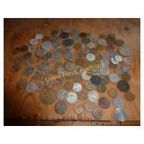 US & Foreign Coins - Vintage Mixed Lot