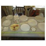 12pc Vintage Porcelain Platters & Service