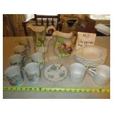 Porcelain & China - Pitchers / Cup Sets / Service
