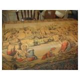 Woven Wall Tapestry - Vintage France
