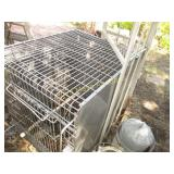 Stainless Steel Commercial Grade Animal Cage