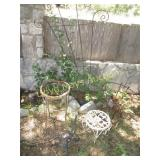 5pc Plant Stands & Garden Trellis