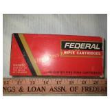Federal 30-30 Win 150gr Rifle Ammunition - 20Rds