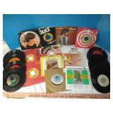 Vintage 45 RPM Vinyl Record Singles