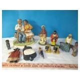 Vintage Americana Figurines / S&P / Candle / Etc