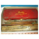 Vintage Firearms Cleaning Rods & Kit