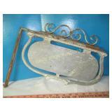 Vintage Cast Aluminum Sign Frame