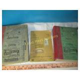 3pc Vintage West Texas Telephone Books