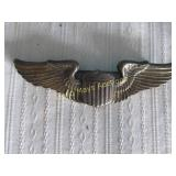 WWII Army Air Corps Sterling Silver Pilot