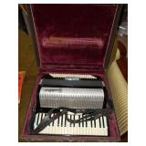 Vintage Frontalini Accordion w/ Case