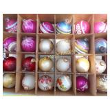 Large Lot - Vintage Glass Christmas Ornaments