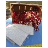 Large Lot - Wood Christmas Bead Strands / Garland