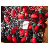 Large Lot - Outdoor Red Christmas Lights