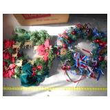 2pc Holiday Wreaths