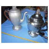 2pc  Vintage Electric Perc Coffee Pots