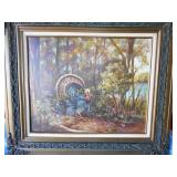 Mary Hussey Original Framed Wildlife Art