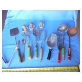 Large Lot - Vintage Kitchen Utensils