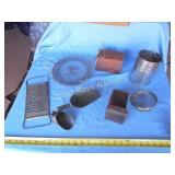 Large Lot - Vintage Kitchen Metal Ware