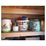 Huge Lot - Vintage Kitchen & Holiday Tins