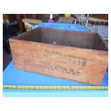 Romeral Esmerado Vintage Spanish Wood Wine Crate