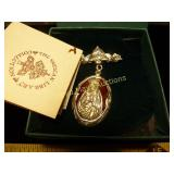 The Vatican Library Collection Catholic Brooch NIB