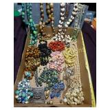 Large Lot - Vintage Fashion & Costume Jewelry