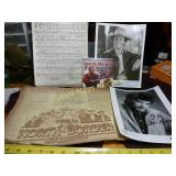 5pc Autographed Country Music Collectibles