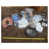 Large Lot - Cake Pans & Decorating Supplies
