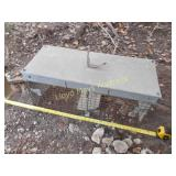 Galvanized Metal Animal Live Trap