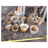 Large Lot - Flower Pots & Planters