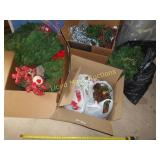 Huge Lot - Christmas Decor / Garland / Wreaths
