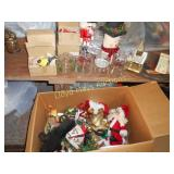 Holiday Glass / Ceramics / Nutcracker / etc