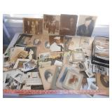 Large Lot - Vintage & Antique Photos / Ephemera