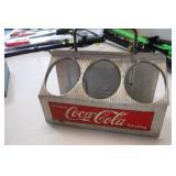 Vintage Aluminum Coke Caddy