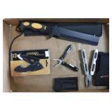 2 Knives & 2 Multi-Tools