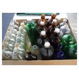 Large Box of Glass Bottles