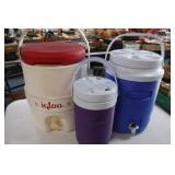 3 Water Coolers / Jugs
