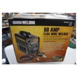 90 AMP 120 volt Flux Wire Welder (in unopened box)