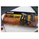 100lb. Capacity Welding Cart (in unopened box)