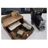 Polaroid Model 150 Land Camera w/ Case