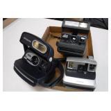 3 Polaroid Instant Cameras