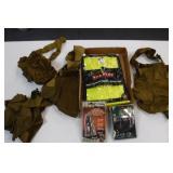 Safty Vest / Cap Light / Turkey Call / Gear Packs