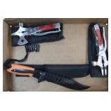 1 Knife & 2 Multi-Tools