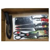 5 Piece Knife Set & 2 Knives
