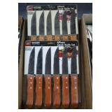 2 - 6 Piece Steak Knife Sets