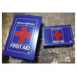 2 First-Aid Kit Metal Boxes