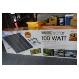 100 Watt Solar Panel Kit (in unopened box)