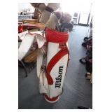 Wilson Golf Bag w/ Triumph Clubs